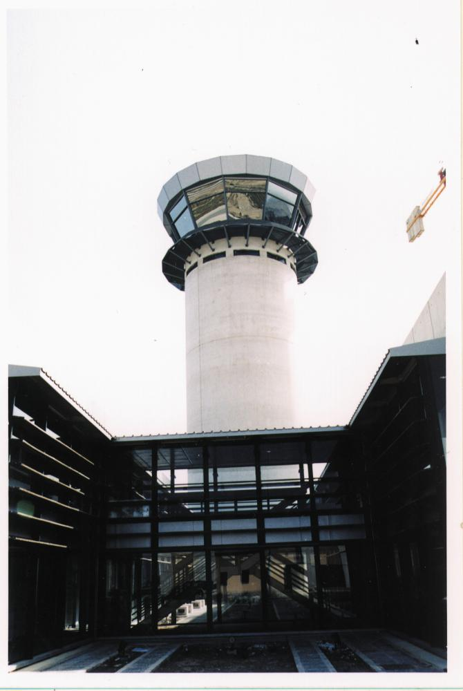 Larnaka Airport Control Tower