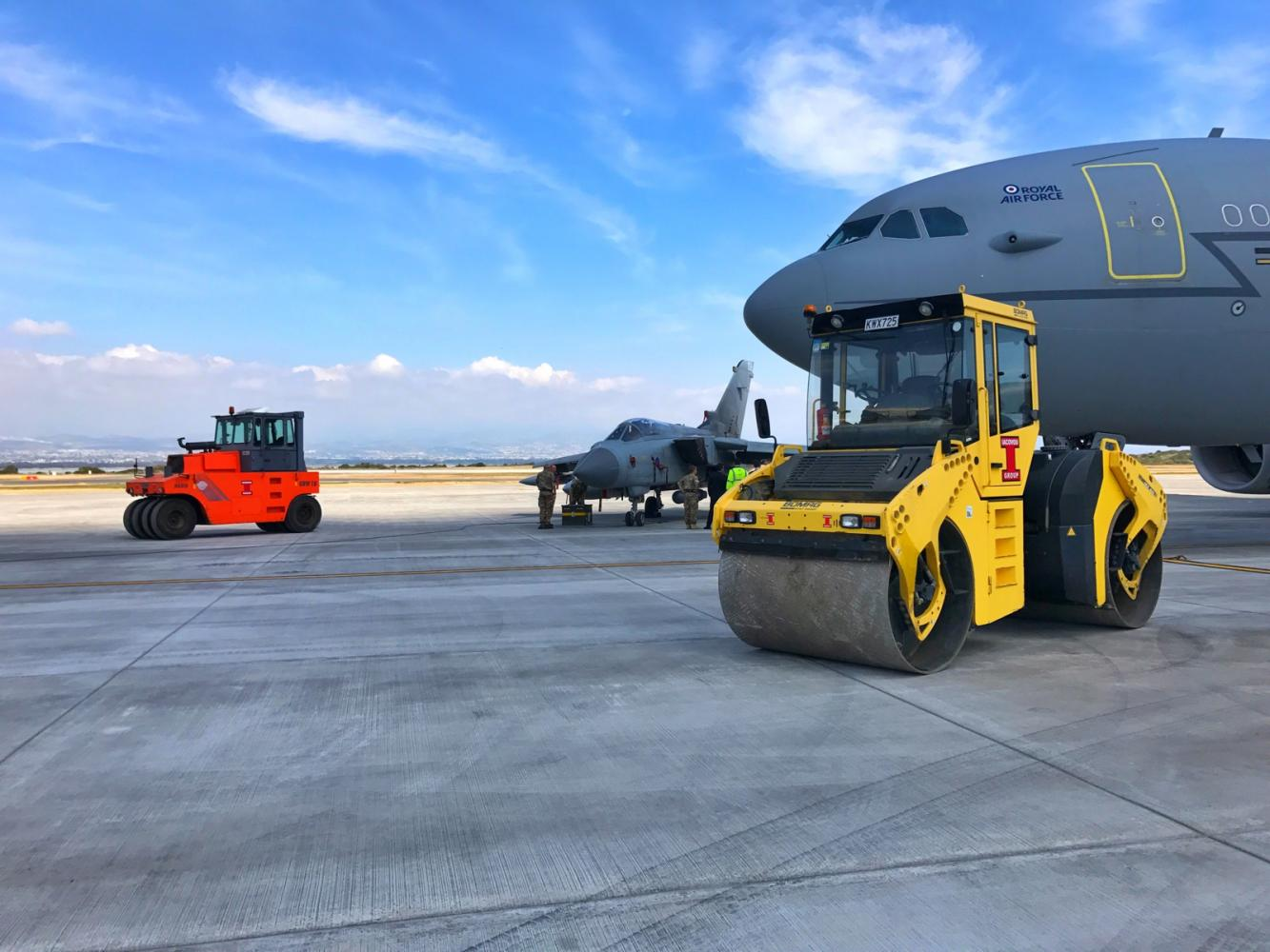 Akrotiri Runway Completion