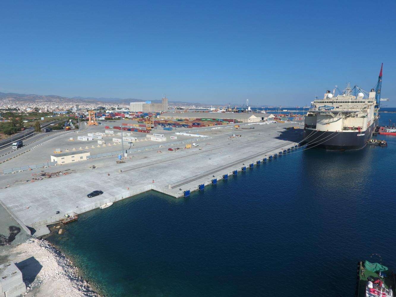 Extension of Limassol Port Quay